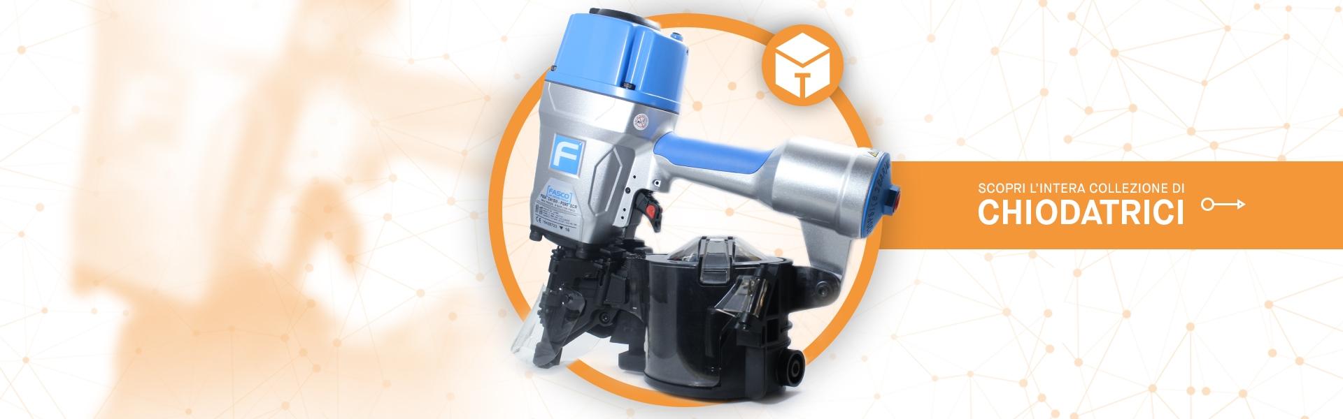 Tooleader - Vendita sistemi di fissaggio - Vendita chiodatrici